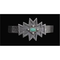 LoulaBelle Silver Silver Cuff Bracelet