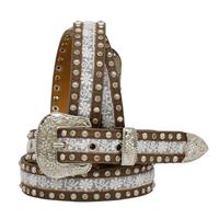 "Angel Ranch 1 1/4"" Brown Girls' Fashion Belt"