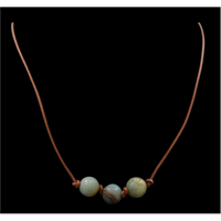 Silver Strike Natural Turquoise Bead Choker Necklace