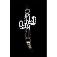 Silver Strike Filigree Cactus Bracelet