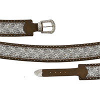 "Angel Ranch 3 1/4"" Brown Ladies' Fashion Belt"
