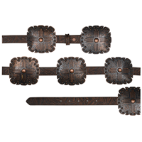"Angel Ranch 1"" Brown Ladies' Fashion Belt"