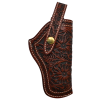 3D Brown Revolver Holster