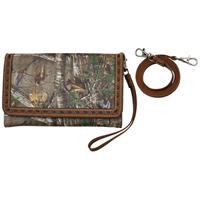 Angel Ranch Camo Large Smartphone Holder Wristlet