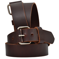 "3D 1 3/4"" Brown Men's Western Basic Belt"