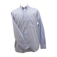 Ruddock Bros. Blue Pin Oak Dress Shirt