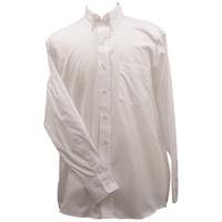 Ruddock Bros. White Pin Oak Dress Shirt