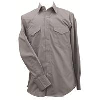 Ruddock Bros. Black & White Plaid Bluff Snap Shirt