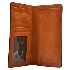 3D Tan Western Rodeo Wallet