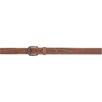 "3D 1 1/2"" Brown Men's Western Basic Belt"