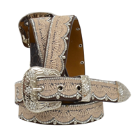 "Angel Ranch 1 1/4"" Brown Girls' Fashion Belt"