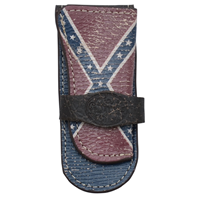 3D Confederated Flag Medium Knife Holder