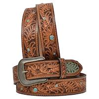 NATL FLRL TOOLED BELT W/TQ STU