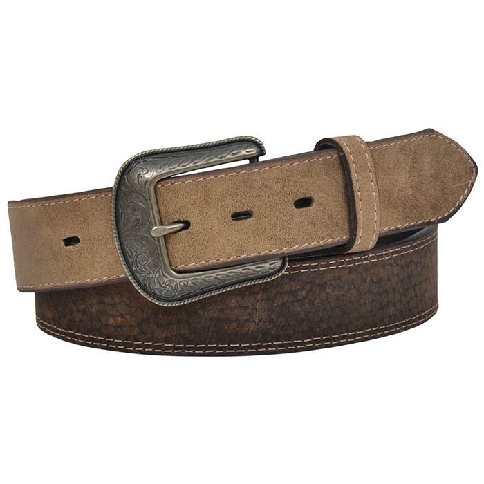 "3D Mens Belt 1 1/2"" Chocolate Brown"