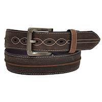 Mens Belt Dark Brown