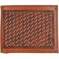 3D Natural Western Bifold Wallet