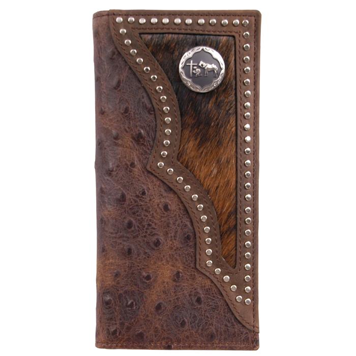 3d Brown Western Rodeo Wallet W914 3d Belt