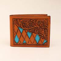 Bifold with Diamond Shaped Cutouts