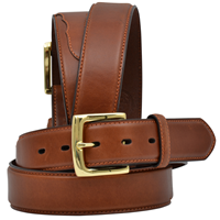 "3D 1 1/2"" Tan Men's Western Basic Belt"