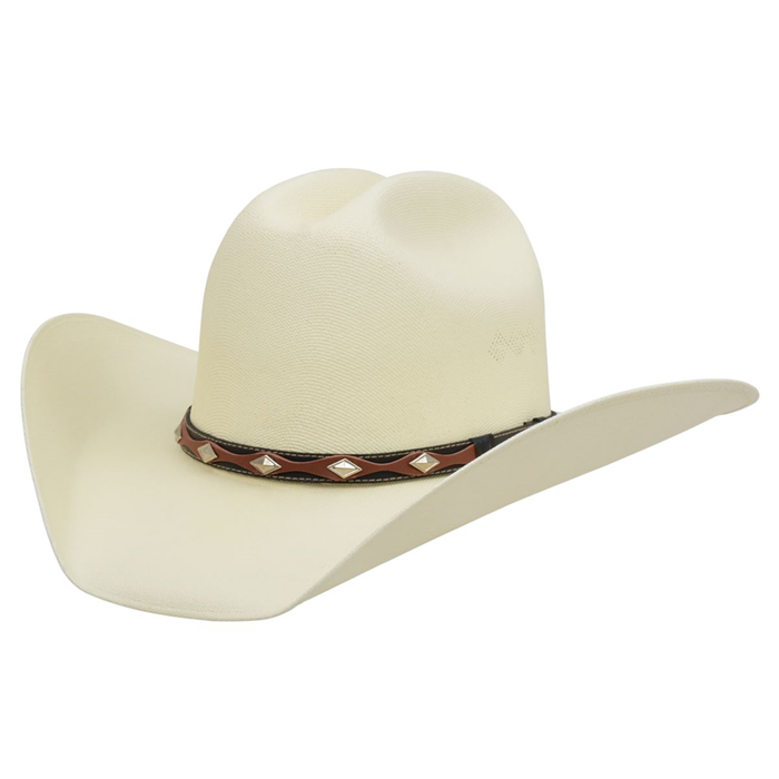 Alamo Canvas Hat with Cattleman Crown