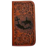 8 Wallet Style Tooled Phone Case