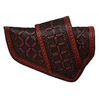 COGNAC HORZ MOUNT KNIFE SHEATH