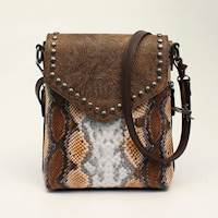 Angel Ranch Messenger Concealed Carry Python Collection Brown