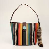 Angel Ranch Tote Concealed Weapon Serape MULT