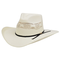 Alamo 5X Bangora Staw Hat with Hondo Crown