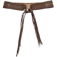 """Angel Ranch 2 1/2"""" Brown Ladies' Fashion Belt"""
