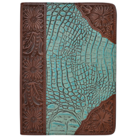3D Turquoise and Brown iPad® Air Cover
