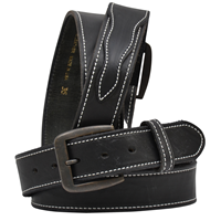 "3D 1 1/2"" Black Men's Western Basic Belt"