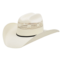 Alamo 5X Bangora Straw Hat with Rancher Crown