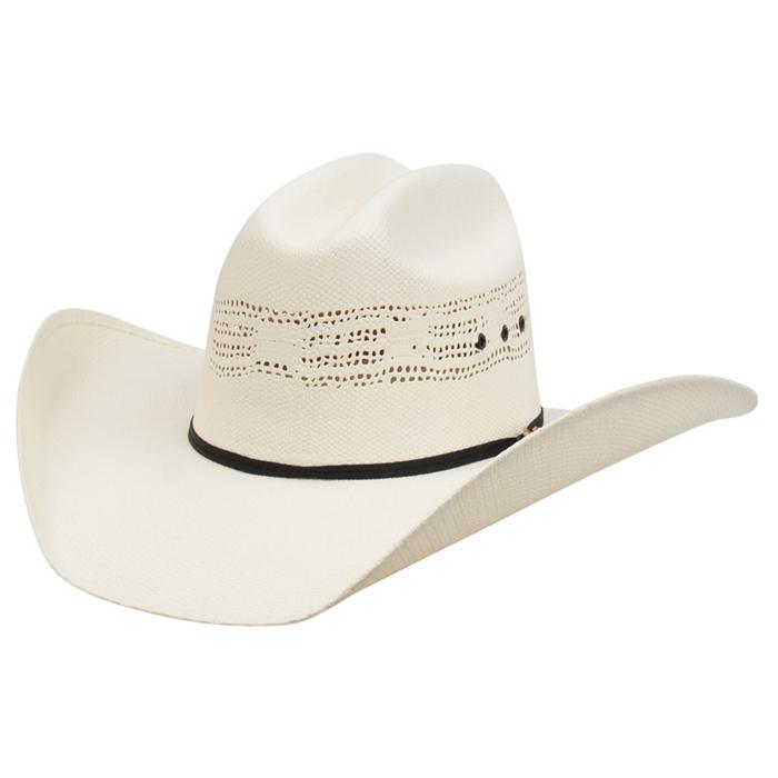 29c826dea64 Alamo 5X Bangora Straw Hat with Rancher Crown - 16001 - 3D Belt