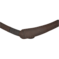 "Angel Ranch 3"" Dark Brown Ladies' Fashion Belt"