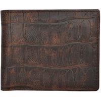 3D Brown Basic Bifold Wallet