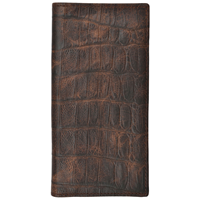 3D  Brown Basic Rodeo Wallet