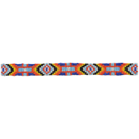 3D Multicolored Western Hatband