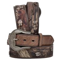 "3D 1 1/2"" Brown Men's Western Fashion Belt"